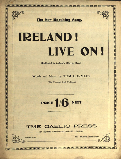 Ireland! Live on!, cover