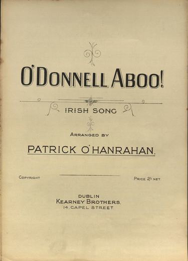 O'Donnell aboo!, cover