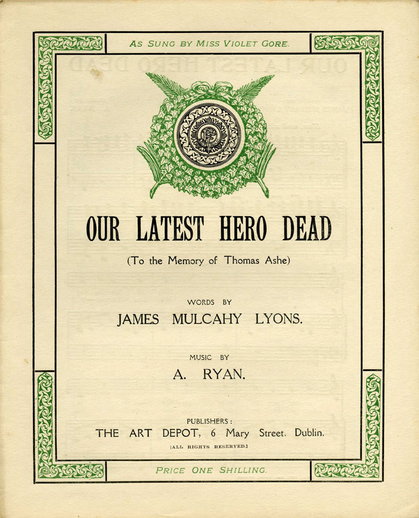 Our latest hero dead, cover
