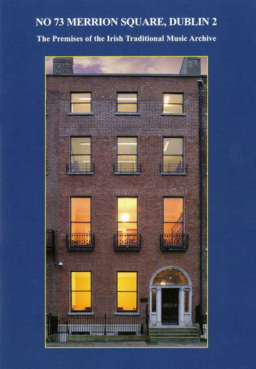 No 73 Merrion Square, cover