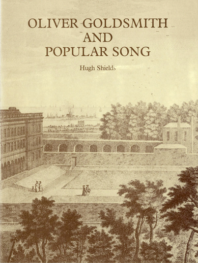 Oliver Goldsmith and popular song, cover