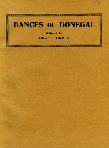 Dances of Donegal, cover