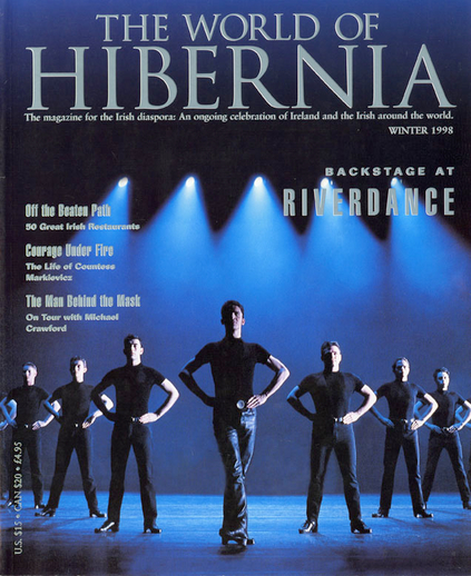 Backstage at Riverdance, cover