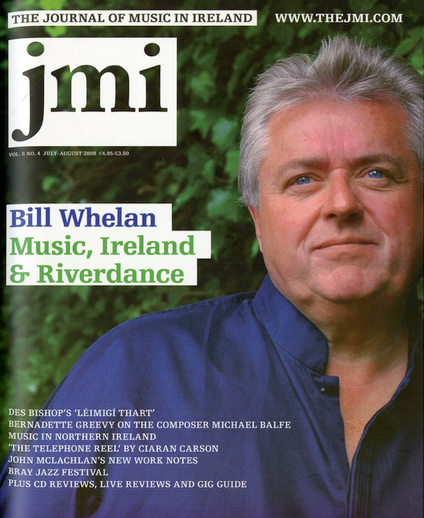 Ireland's dance with music : Riverdance composer Bill Whelan in conversation with Toner Quinn, cover