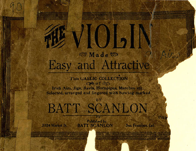 The violin made easy and attractive, cover
