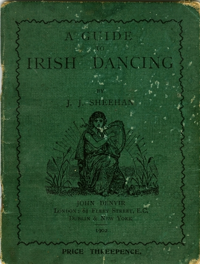 A guide to Irish dancing, cover