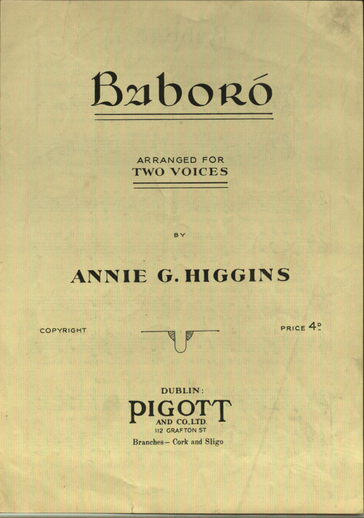 Baboró, cover