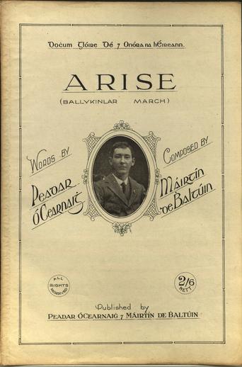 Arise, cover