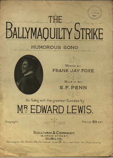 The Ballymaquilty strike, cover