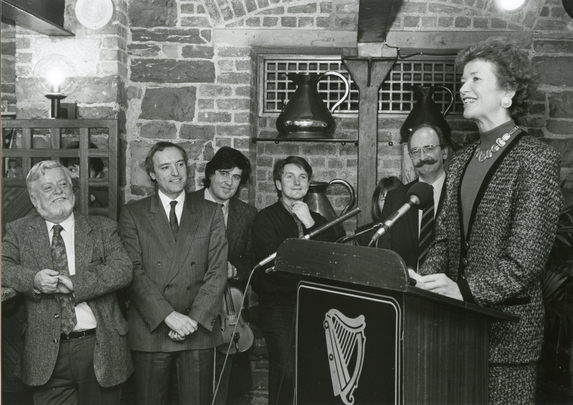 Mary Robinson, Tom Munnelly, Paddy Glackin, Dermot McLaughlin and others / Mac Innes Photography