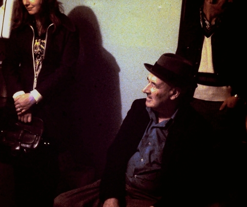 Henry Campbell at a house party in Branch, 1975 / Aidan O'Hara
