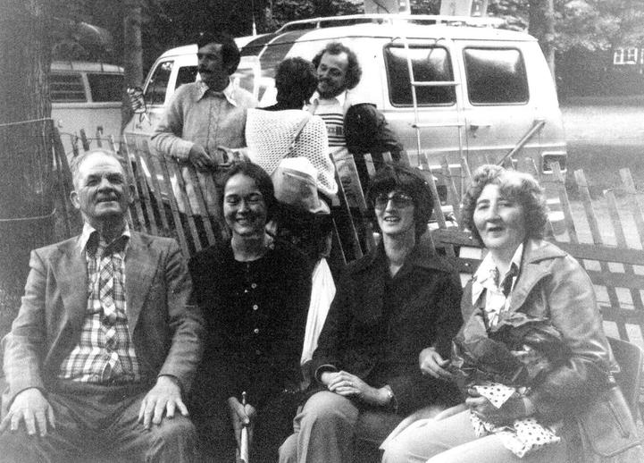 Anthony Power and friends at the 1978 Newfoundland Folk Festival / Aidan O'Hara