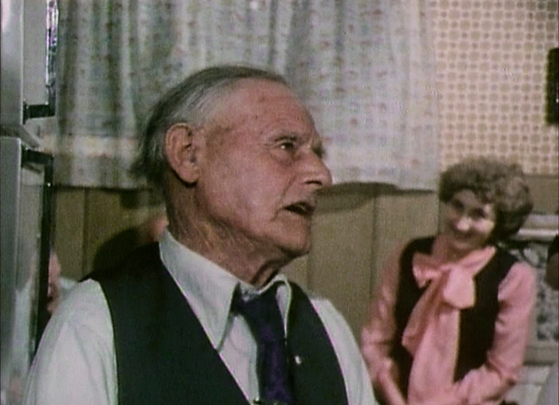 John Joe English sings for an audience of friends, August 1980 / The Radharc Trust Film Archive