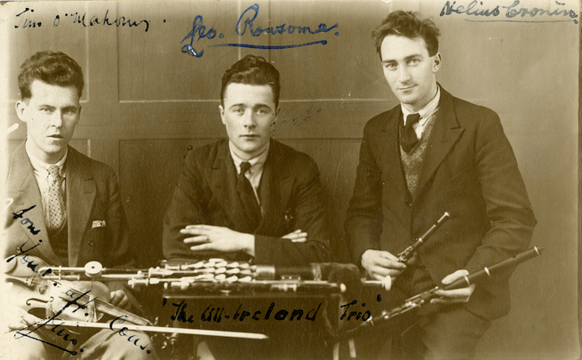 Séamus O'Mahony and Leo Rowsome / unidentified photographer
