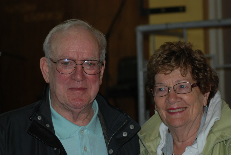 Seán and Bernie Potts, 2011 / Liam McNulty