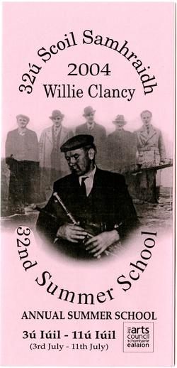 Scoil Samhraidh Willie Clancy, Programme, 2004