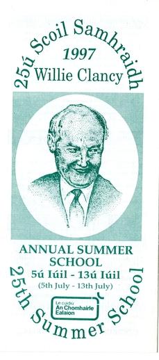 Scoil Samhraidh Willie Clancy, Programme, 1997