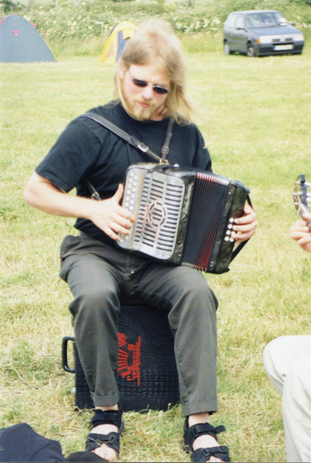 Anders Trajberg, accordion / Orla Henihan