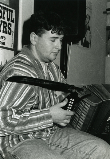 Derek Hickey, accordion / Steven de Paoire
