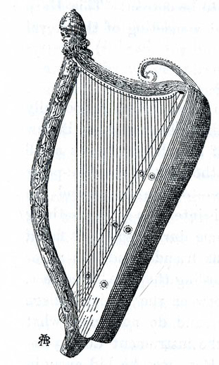 John Kelly harp / Robert Bruce Armstrong