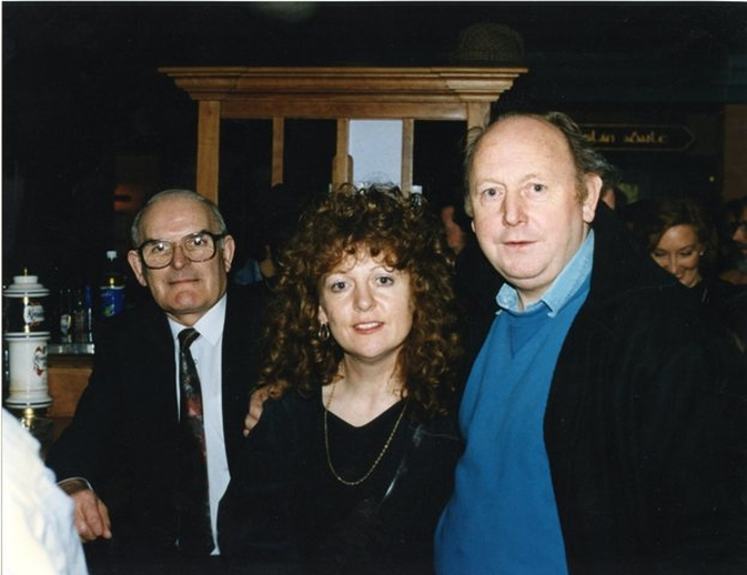 Mick Quinn, singer, & others, 1992 / Luke Cheevers