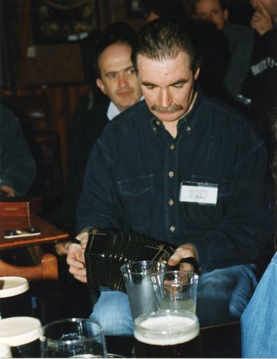 Jim McArdle, concertina / Luke Cheevers