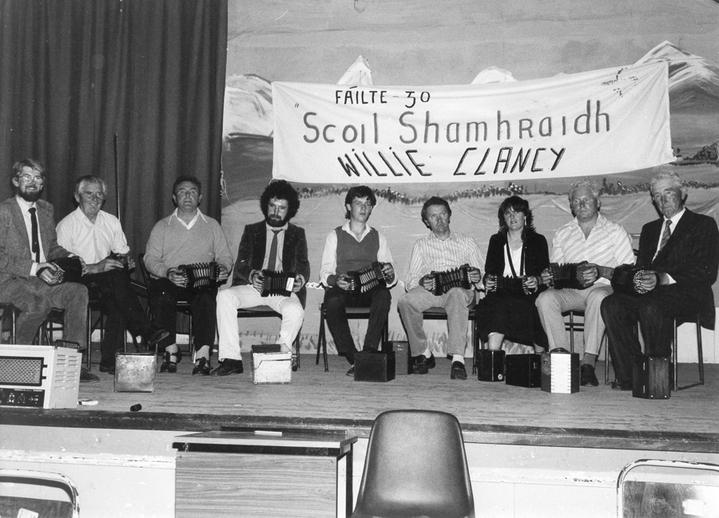Gearóid Ó hAllmhurain and others / [unidentified photographer]