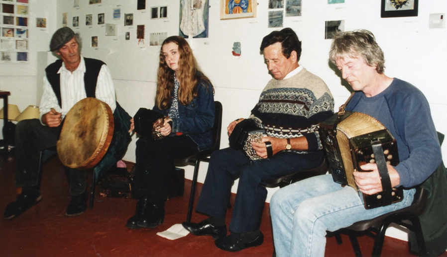 Florence Fahy ; Martin Fahy ; and others, 1997 / Nicholas Carolan