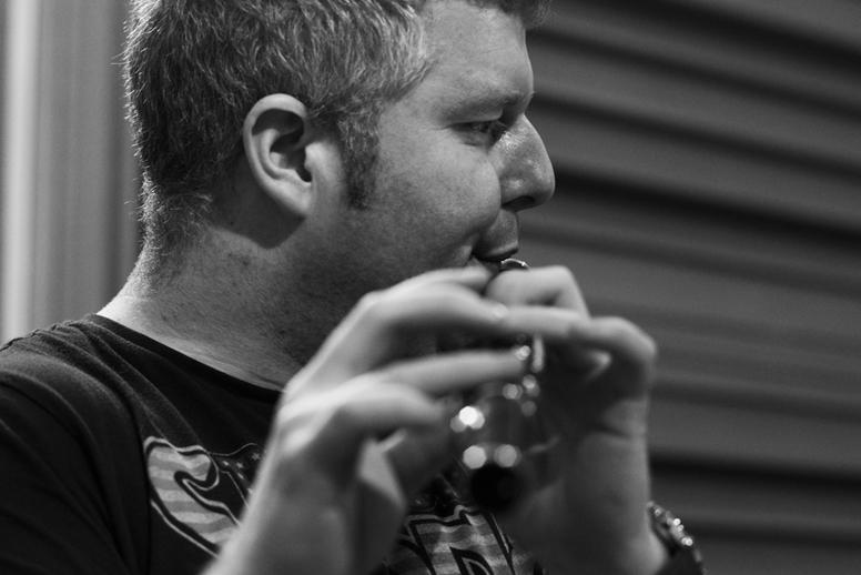 Dominic Keogh, flute, 2013 / Danny Diamond