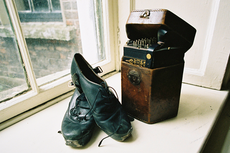 Dancing shoes and concertina / Danny Diamond