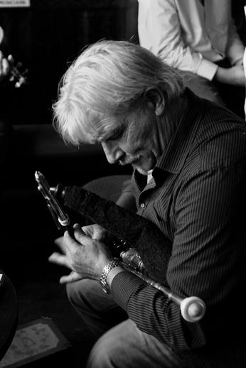 John Rooney, uilleann pipes / Danny Diamond
