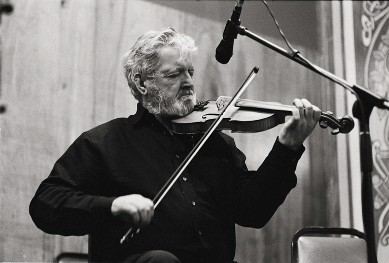 Tommy Peoples, fiddle, 2011 / Danny Diamond