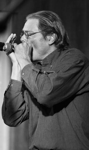 Rick Epping, harmonica, 2010 / Danny Diamond