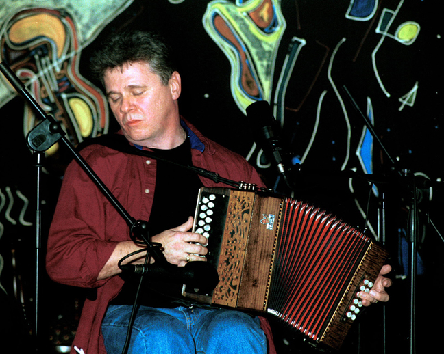 Billy McComiskey, accordion / Steven de Paoire