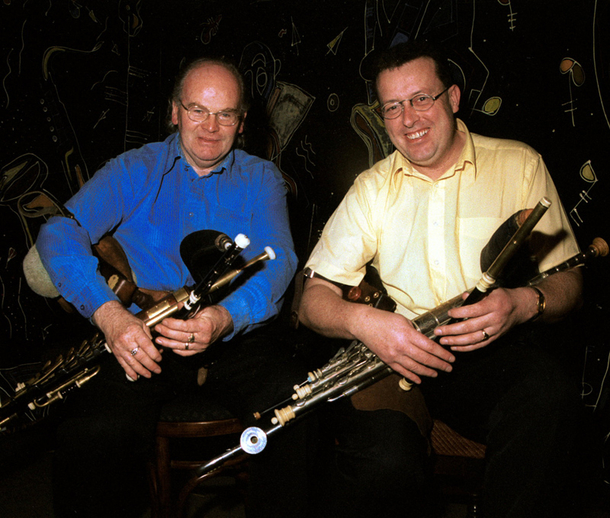 Brian Vallely & Alife Mulligan, pipes / Steven de Paoire