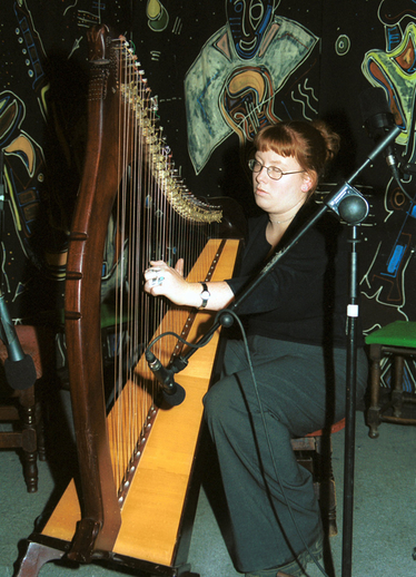 Deirdre Ní Bhuachalla, harp / Steven de Paoire