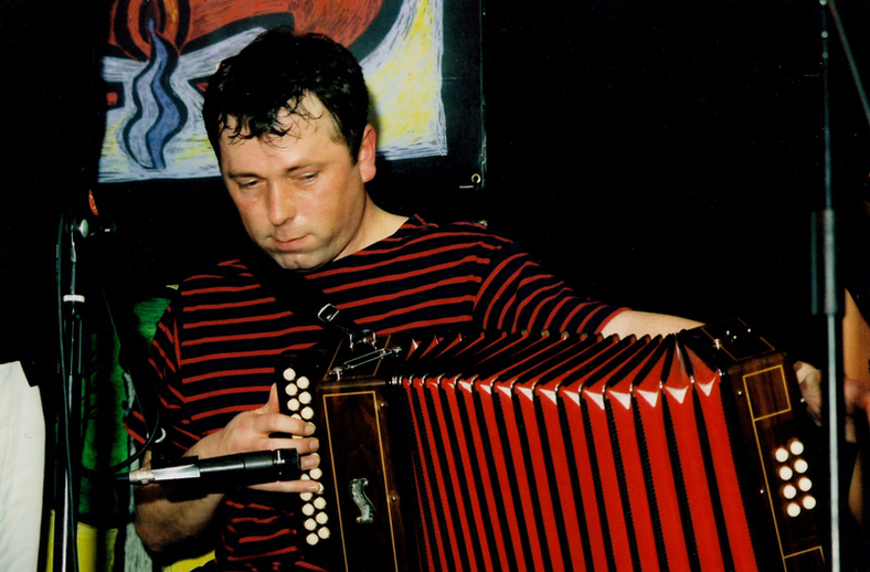Shane Mitchell, accordion / Steven de Paoire