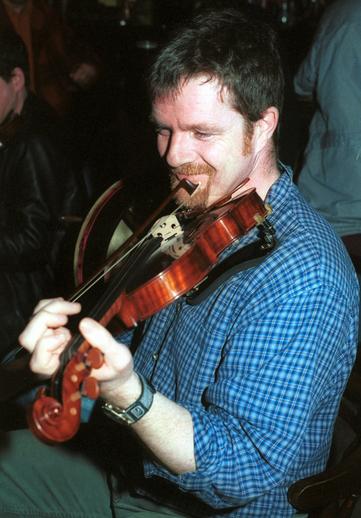 Ger Galvin, fiddle / Steven de Paoire