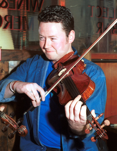 Paul McNevin, fiddle / Steven de Paoire