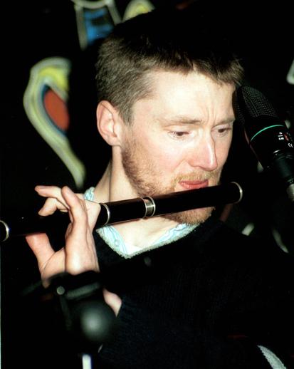 Seán Ó Broin, flute / Steven de Paoire