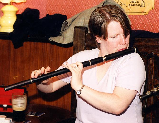 Teresa Grady, flute / Steven de Paoire