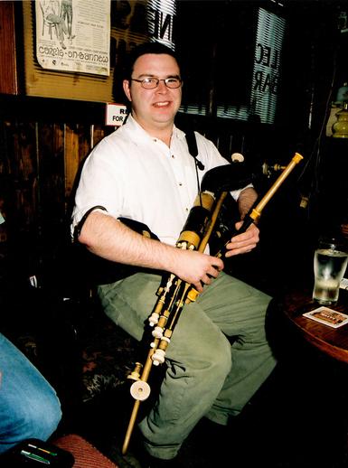 Tommy Martin, pipes / Steven de Paoire