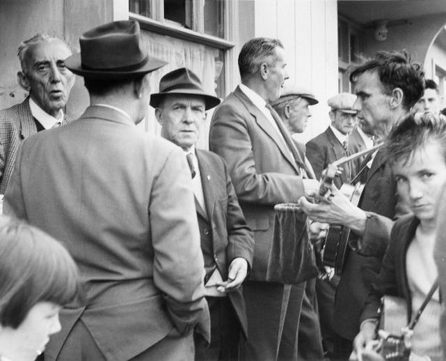 John Joe and Joseph 'Hanta' Dunne, Fleadh Cheoil, Gorey, 1962 / Bord Fáilte