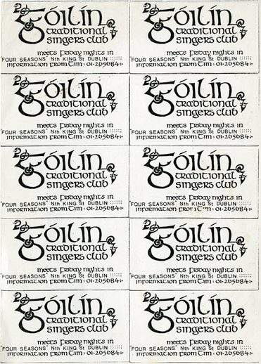 Góilín information cards
