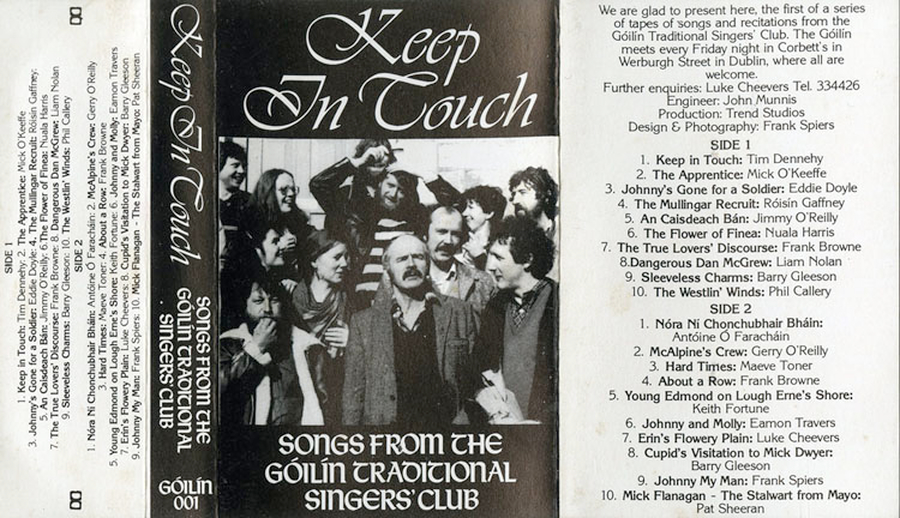 Keep In Touch cassette cover