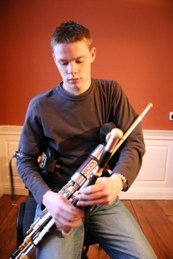 Seán McKeon, Ceoltóir Óg na Bliana 2005 / TG4 photographer