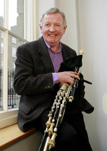 Liam O'Flynn, Ceoltóir na Bliana 2007 / TG4 photographer