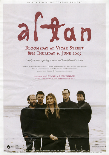 Altan : Bloomsday at Vicar Street
