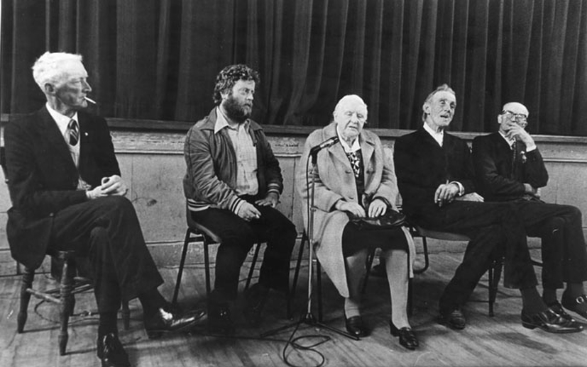Tom Lenihan, singer, & others, 1980 / Carroll