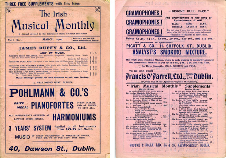 The Irish musical monthly, 1902